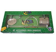 8976-KIT BANH METAL NASA 5PC CROM